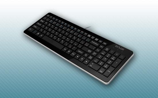 Клавиатура Delux DLK-1500 UB USB