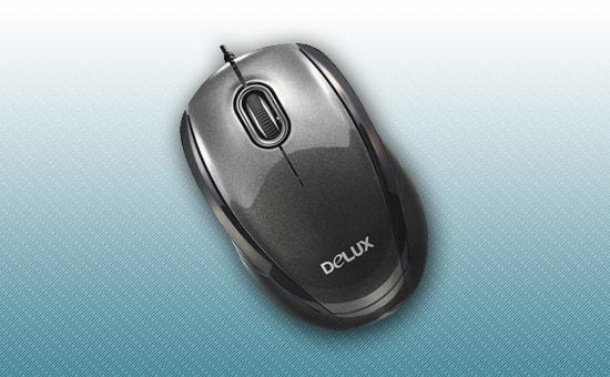Мышь Delux DLM-126 OUB