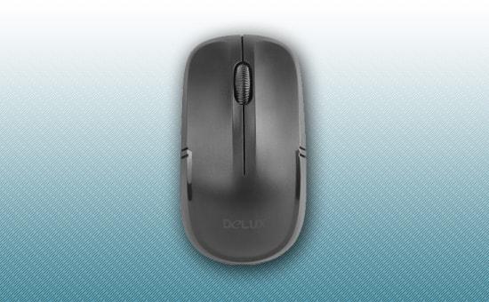 Мышь Delux DLM-136 OGB