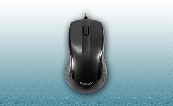 Мышь Delux DLM-388OUB