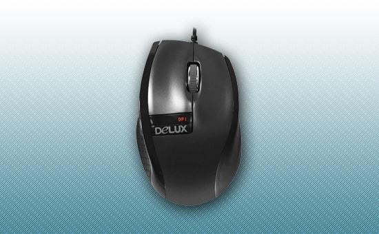 Мышь Delux DLM-526 OGQ USB