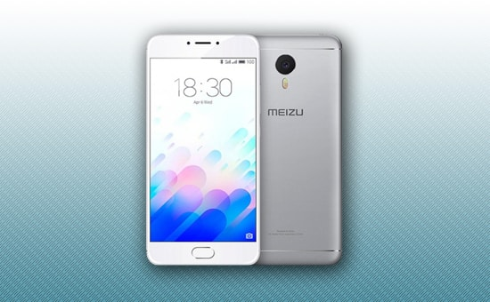 Смартфон Meizu M3 Note 32Gb серебло