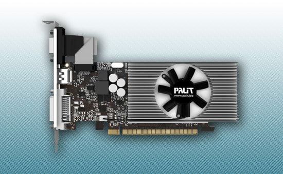 Видеокарта Palit GeForce GT 730 700Mhz 2Gb DDR3 128bit