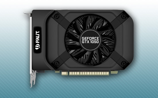 Видеокарта Palit GeForce GTX 1050 1354Mhz 2GB DDR5 128bit