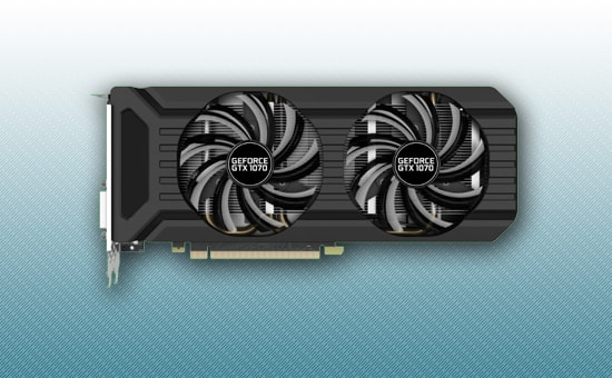 Видеокарта Palit GeForce GTX 1070 1506Mhz 8GB DDR5 256bit