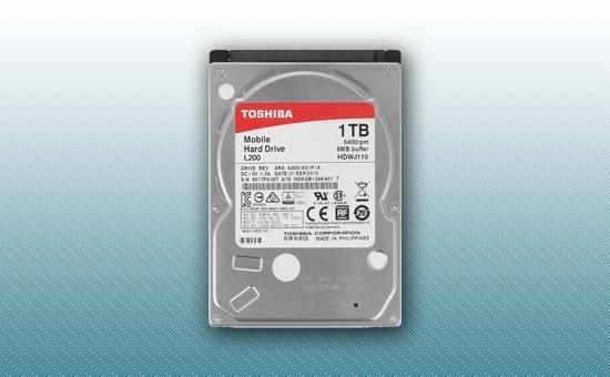 "Жесткий диск 1Tb Toshiba L200 5400rpm 8Mb 2.5"" [HDWJ110UZSVA]"
