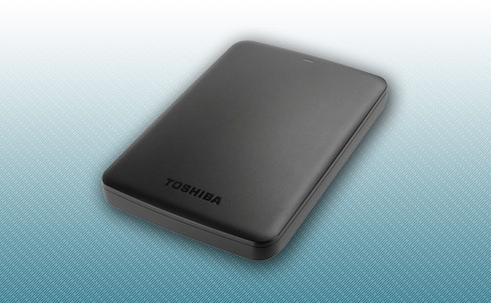 Внешний жесткий диск 2TB Toshiba Canvio Basics 2.5