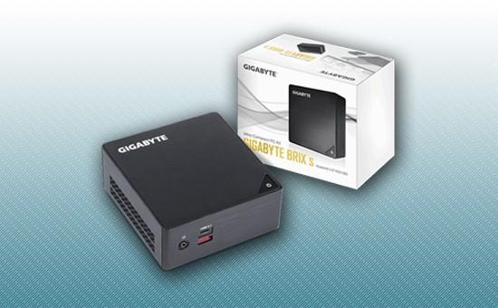 Мини-ПК Barebone Gigabyte BRIX GB-BKi3HA-7100