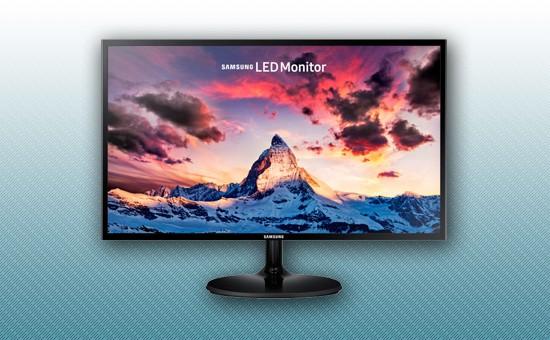 """Монитор LED 23.5"""" Samsung LS24F350FHIXCI"""