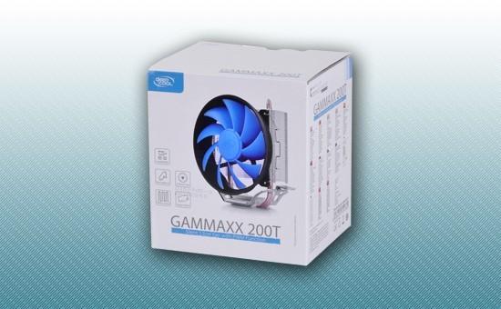 Воздушное охлаждение DEEPCOOL GAMMAXX 200T