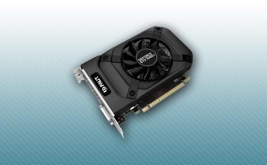 Видеокарта Palit GTX1050Ti STORMX 4GB 128bit GDDR5 DVI HDMI