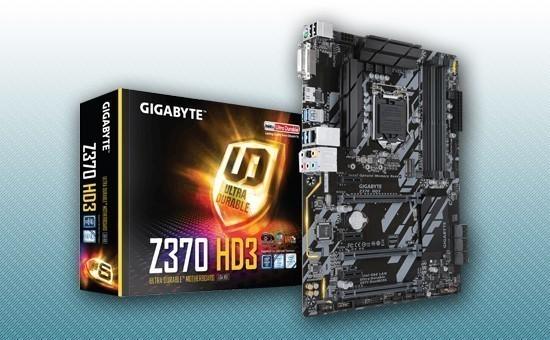 Материнская плата Gigabyte Z370 HD3 (rev. 1.0)