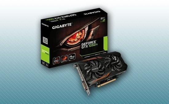 Видеокарта Gigabyte GTX 1050Ti OC 4Gb rev1.1 GDDR5