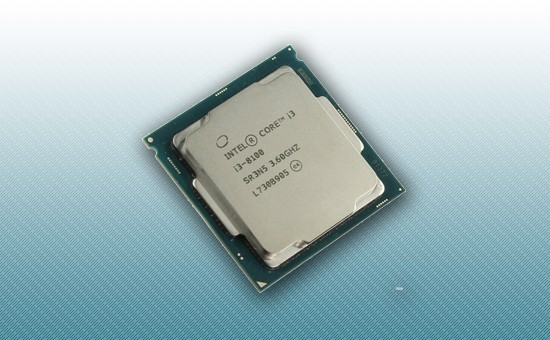 Процессор Intel Core i3-8100 [3.6 GHz