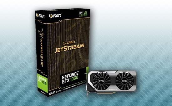 Видеокарта Palit GTX1060 SUPER JETSTREAM 6G