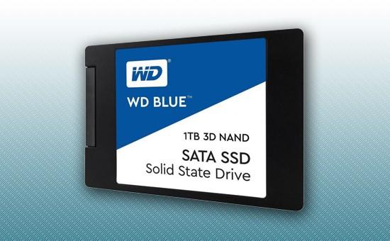 "Твердотельный накопитель SSD 1TB WD BLUE 2.5"" SATA3 TLC [WDS100T2B0A]"