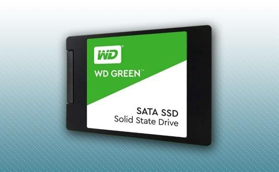 """Твердотельный накопитель SSD 120GB WD GREEN  2.5"""" SATA3 TLC [WDS120G2G0A]"""
