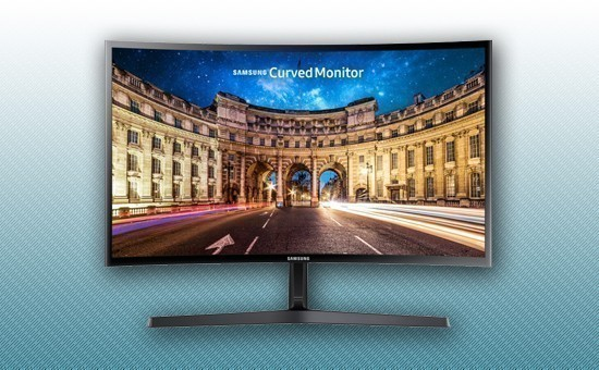 """Монитор LED 27"""" Samsung LC27F396FHIXCI"""
