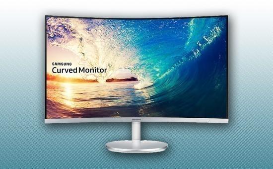 "Монитор 27"" Samsung LC27F591FDIXCI Серый"