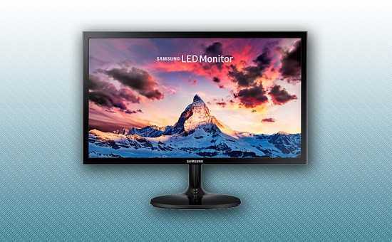 "Монитор LED 21.5"" Samsung LS22F350FHIXCI Black"