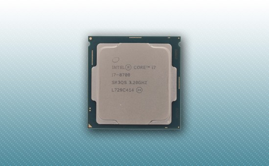 Процессор Intel Core i7-8700 [3.2 GHz