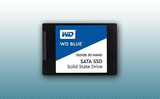 """Твердотельный накопитель SSD 500GB WD BLUE 2.5"""" SATA3 TLC [WDS500G2B0A]"""