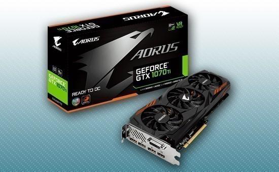 Видеокарта Gigabyte GTX 1070Ti AORUS 8G GDDR5