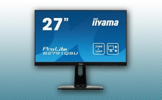 "Монитор 27"" Iiyama B2791QSU-B1 Black"