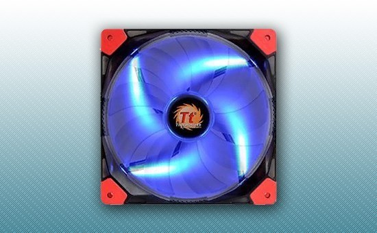 Кулер для Корпуса Thermaltake Luna 14 LED Blue [CL-F021-PL14BU-A]