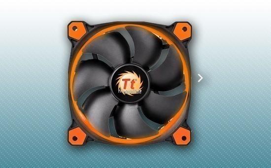 Кулер для Корпуса Thermaltake Riing 12 LED Orange (CL-F038-PL12OR-A)