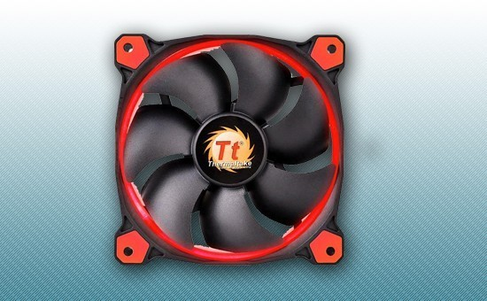 Кулер для Корпуса Thermaltake Riing 12 LED Red (CL-F038-PL12RE-A)