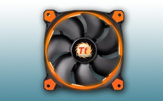 Кулер для Корпуса Thermaltake Riing 14 LED Orange (CL-F039-PL14OR-A)