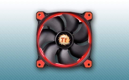 Кулер для Корпуса Thermaltake Riing 14 LED Red (CL-F039-PL14RE-A)