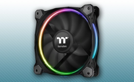 Кулер для Корпуса Thermaltake Riing 14 LED Radiator Fan TT Premium Edition 3 pack [CL-F051-PL14SW-A]