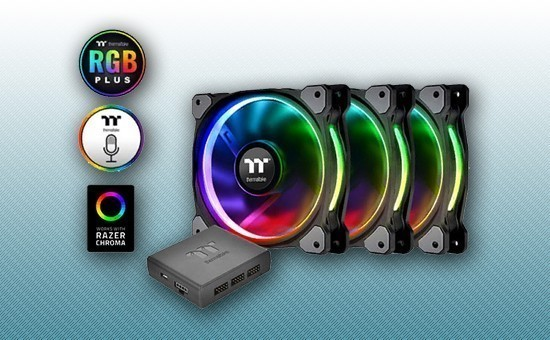 Кулер для Корпуса Thermaltake Riing Plus 12 RGB Radiator Fan TT Premium Edition [CL-F053-PL12SW-A]