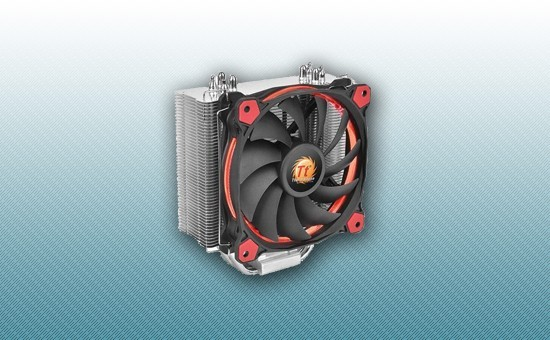 Воздушное охлаждение Thermaltake Riing Silent 12 Red [CL-P022-AL12RE-A]