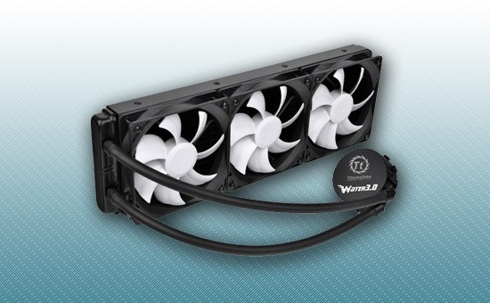 Водяное охлаждение Thermaltake Water 3.0 Ultimate [CL-W007-PL12BL-A]