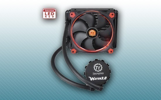 Водяное охлаждение Thermaltake Water 3.0 Riing Red 140 [CL-W150-PL14RE-A]