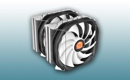 Воздушное охлаждение Thermaltake Frio Extreme Silent 14 Dual [CLP0587-B]