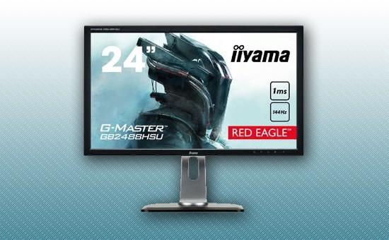 """Игровой Монитор 24"""" Iiyama GB2488HSU-B3 Black"""