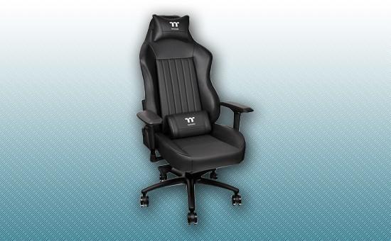 Игровое кресло Thermaltake X Comfort XC500 Black [GC-XCS-BBLFDL-01]