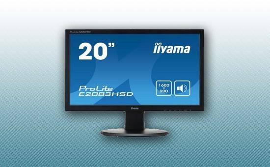 "Монитор 19.5"" Iiyama E2083HSD-B1 Black"