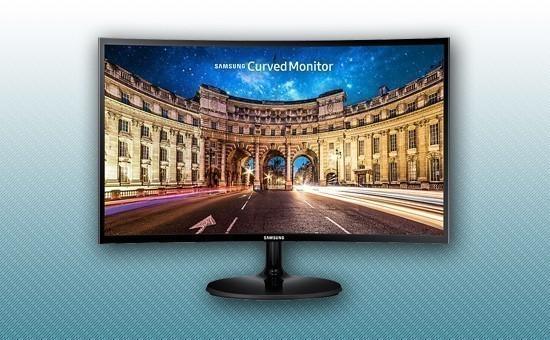 "Монитор 23.5"" Samsung LC24F390FHIXCI Black"