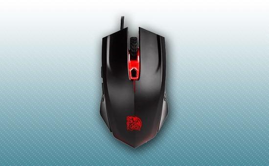 Игровая Мышь Thermaltake Black FP