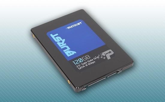 """Твердотельный накопитель SSD 120GB Patriot Burst 2.5"""" SATA3 TLC 3D [PBU120GS25SSDR]"""