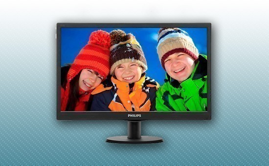 "Монитор 18.5"" Philips 193V5LSB2/62 Black"