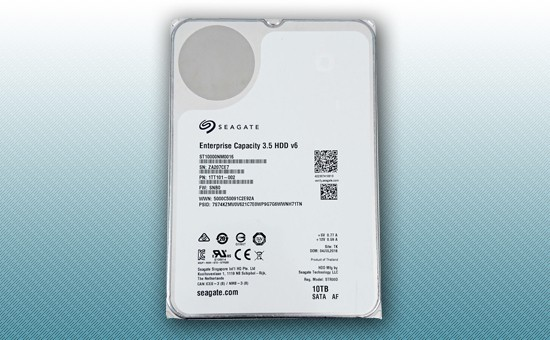 Жесткий диск 10Tb Seagate Enterprise Capacity 7200 rpm SATA 6Gb/s 256Mb 3