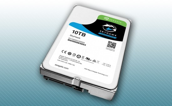 Жесткий диск 10Tb Seagate SkyHawk 7200 rpm SATA 6Gb/s 256Mb 3