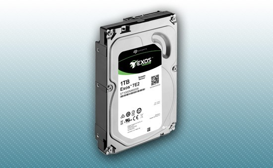 Жесткий диск 1Tb Seagate EXOS Enterprise 7200 rpm SATA 6Gb/s 128Mb 3
