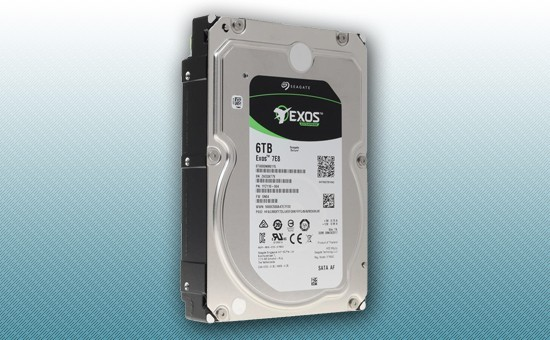 Жесткий диск 6Tb Seagate EXOS Enterprise 7200 rpm SATA 6Gb/s 256Mb 3